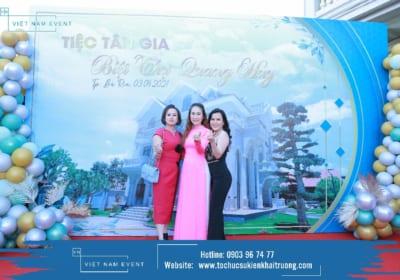 Công ty tổ chức tiệc tân gia chuyên nghiệp tại Điện Biên