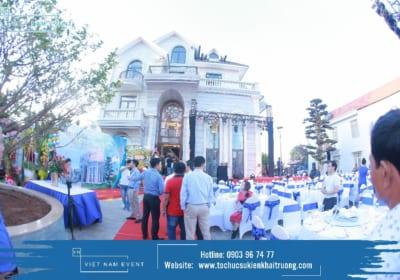 Công ty tổ chức tiệc tân gia chuyên nghiệp tại Đắk Nông